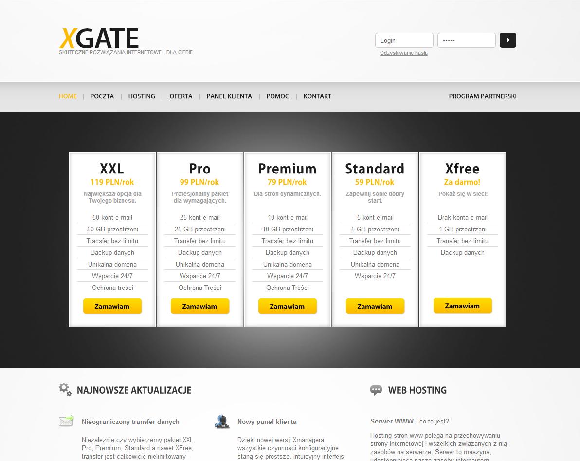 XGATE - hosting