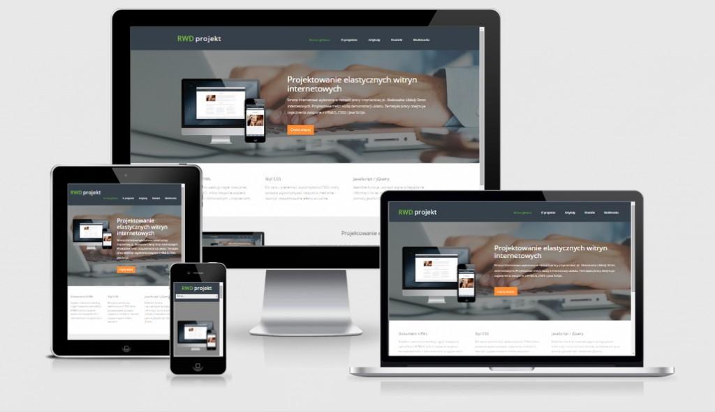 responsive web design - wymóg nowoczesnych stron