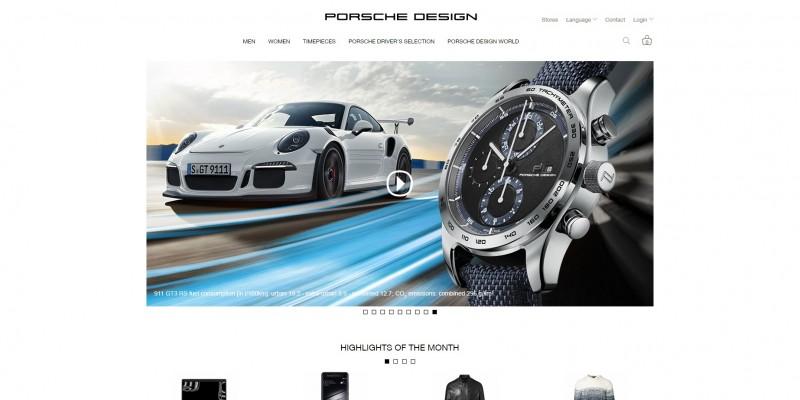 porsche design najpiękniejsze strony www