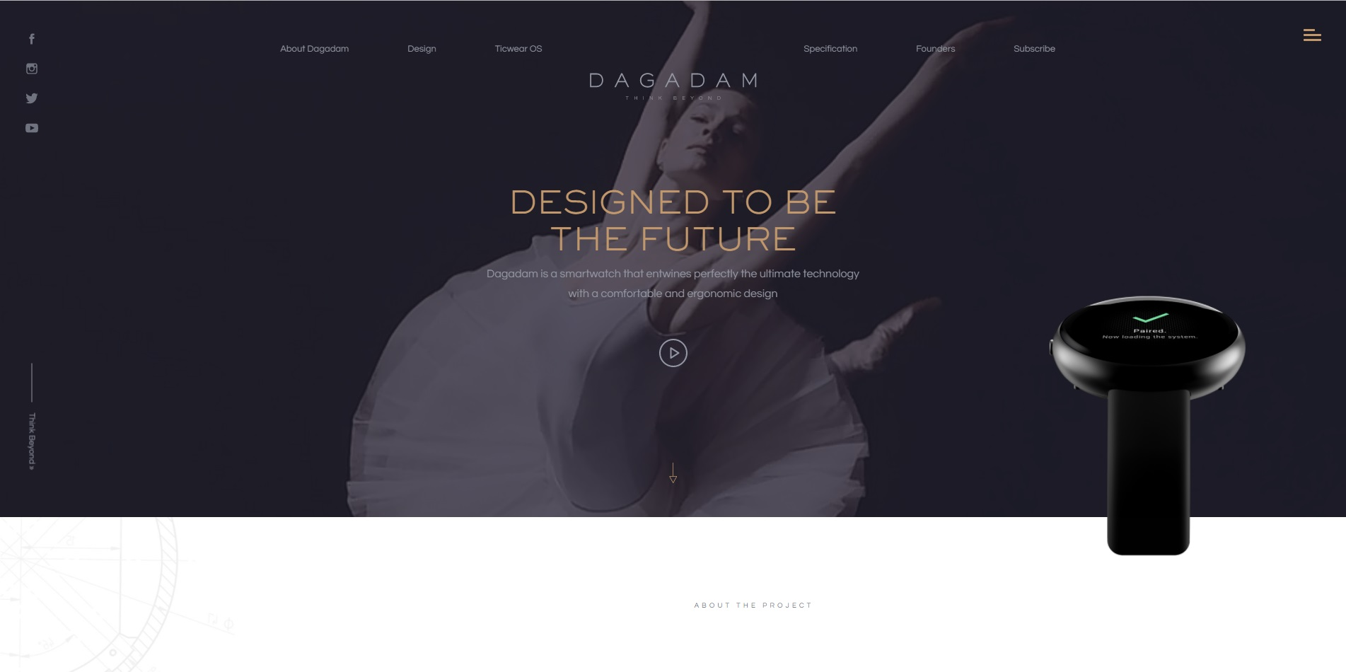 trendy web design 2018 - filmy i animacje