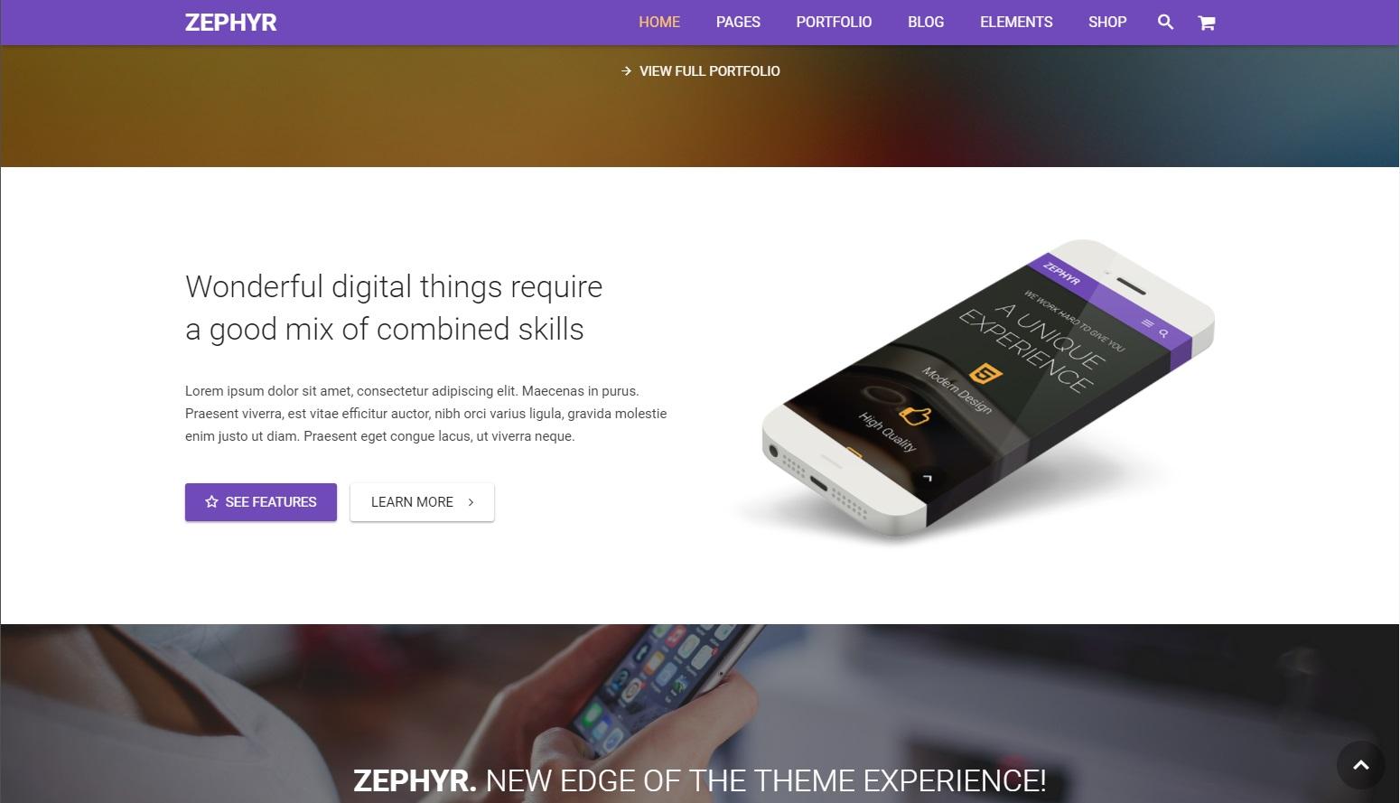 trendy web design 2018 - material design 2