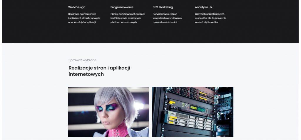 idealna strona internetowa