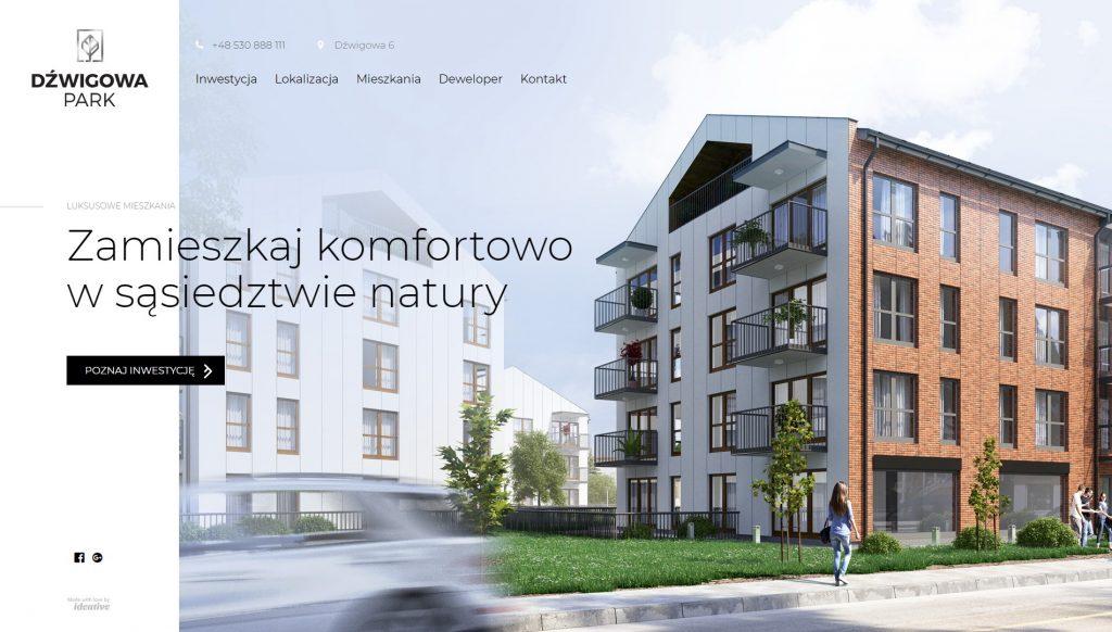 polskie strony design - dzwigowapark
