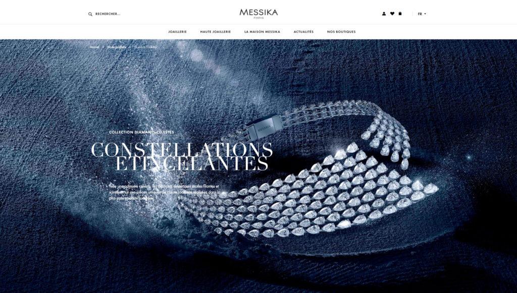Najładniejsze strony firmowe 2018 - messika